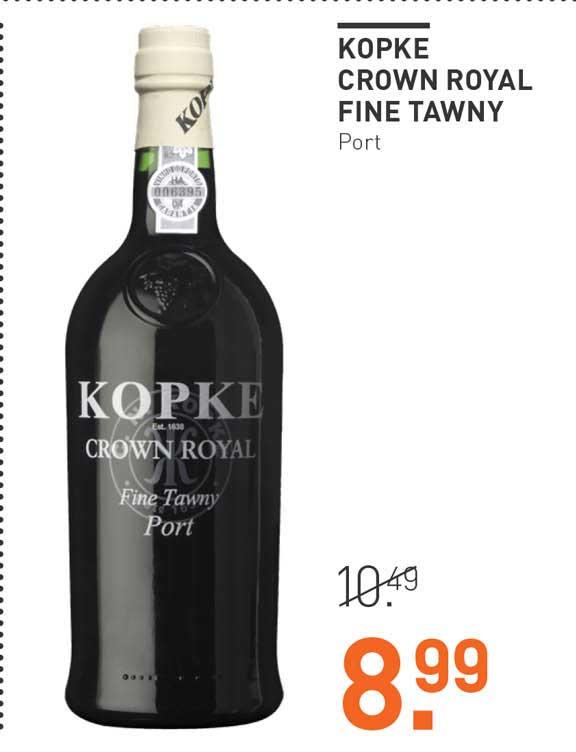 Gall & Gall Kopke Crown Rotal Fine Tawny