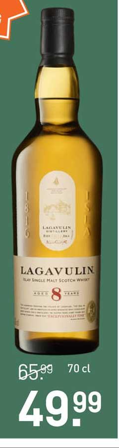 Gall & Gall Lagavulin Islay Single Malt Scotch Whisky Aged 8 Years