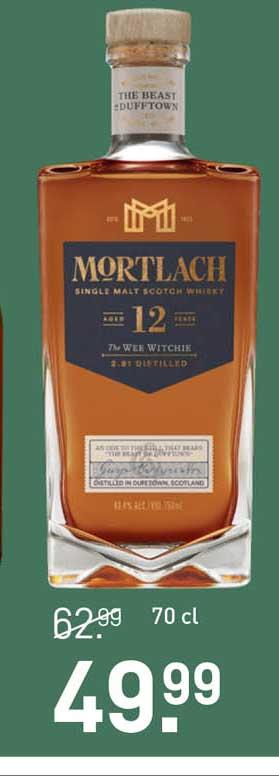 Gall & Gall Mortlach Single Malt Scotch Whisky Aged 12 Years