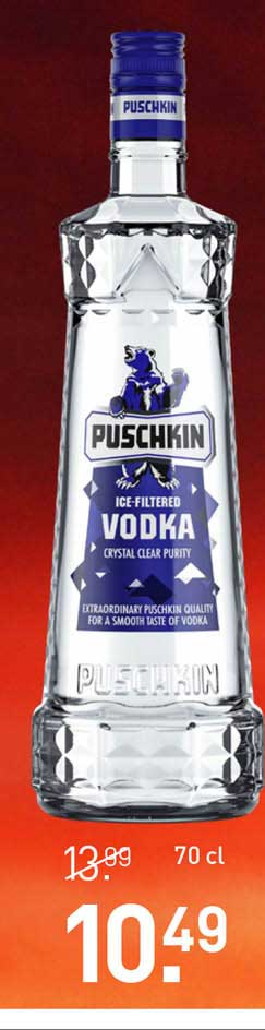 Gall & Gall Puschkin Ice-Filtered Vodka