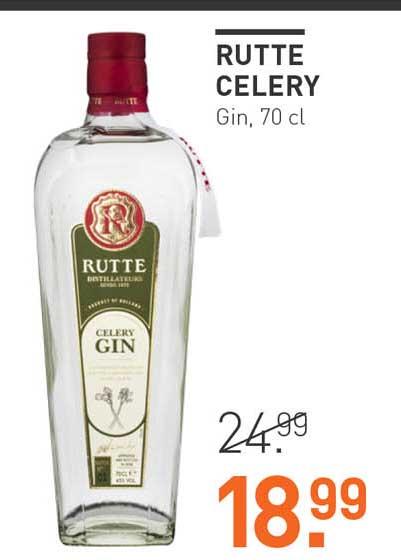 Gall & Gall Rutte Celery Gin