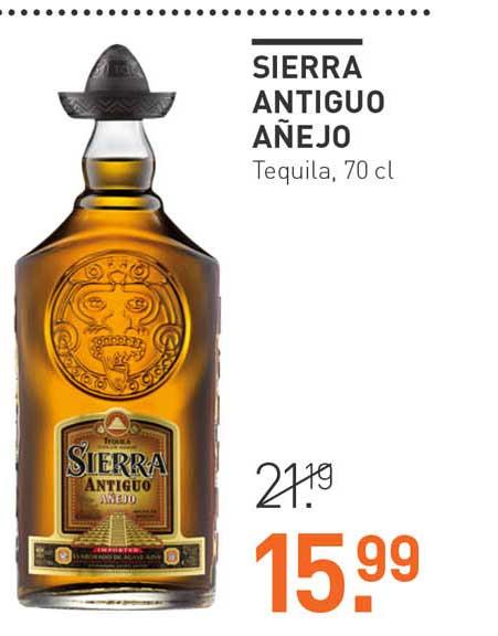 Gall & Gall Sierra Antiguo Añejo Tequila