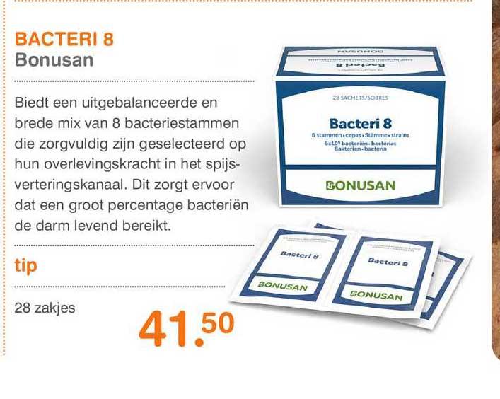 Vitaminstore Bacteri 8 Bonusan