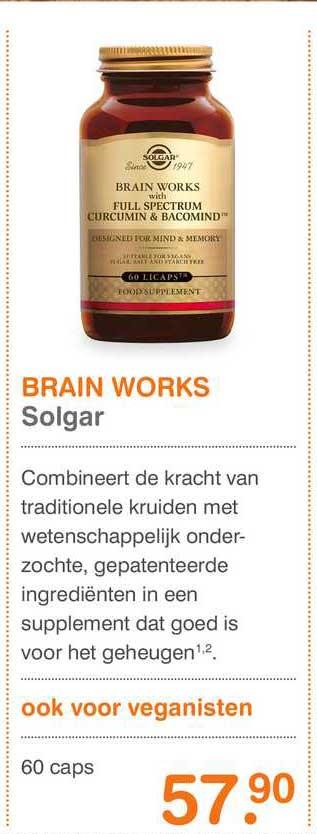 Vitaminstore Brain Works Solgar