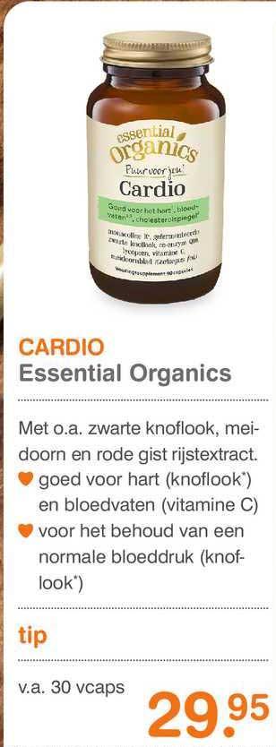Vitaminstore Cardio Essential Organics