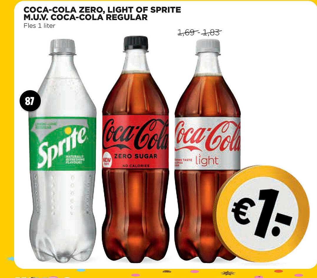 Jumbo Coca-Cola Zero, Light Of Sprite