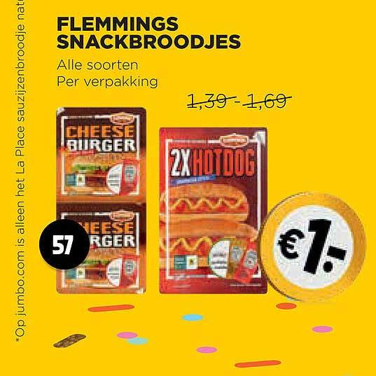 Jumbo Flemmings Snackbroodjes