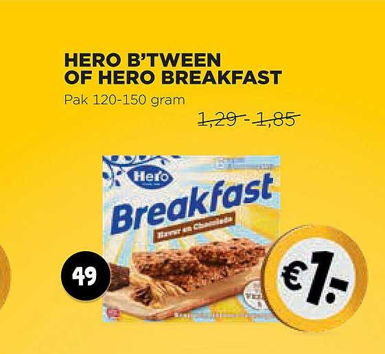 Jumbo Hero B'Tween Of Hero Breakfast