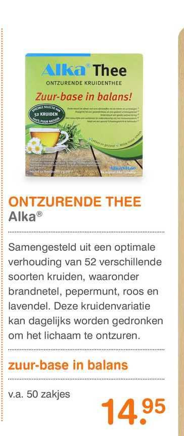 Vitaminstore Ontzurende Thee Alka®