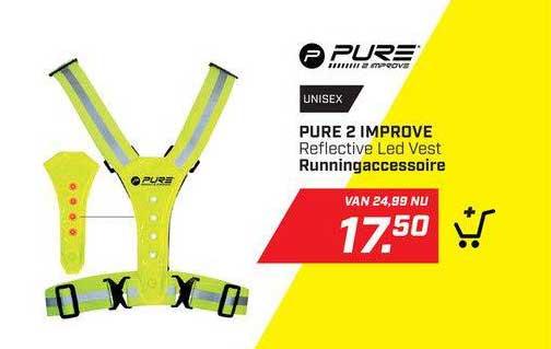 DAKA Pure 2 Improve Reflective Led Vest Runningaccessoire