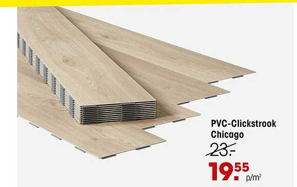 Kwantum PVC-Clickstrook Chicago