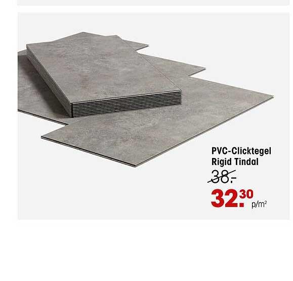 Kwantum PVC-Clicktegel Rigid Tindal