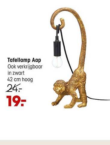 Kwantum Tafellamp Aap