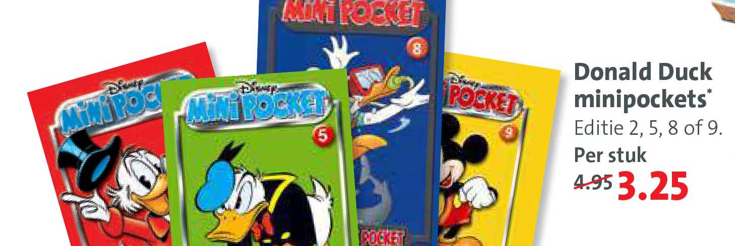 Bruna Donald Duck Minipockets