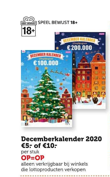 Coop Decemberkalender 2020