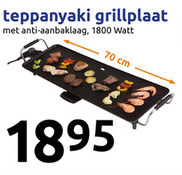 Action Teppanyaki Grillplaat