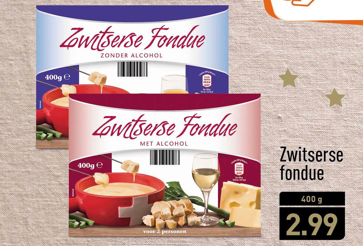 ALDI Zwitserse Fondue