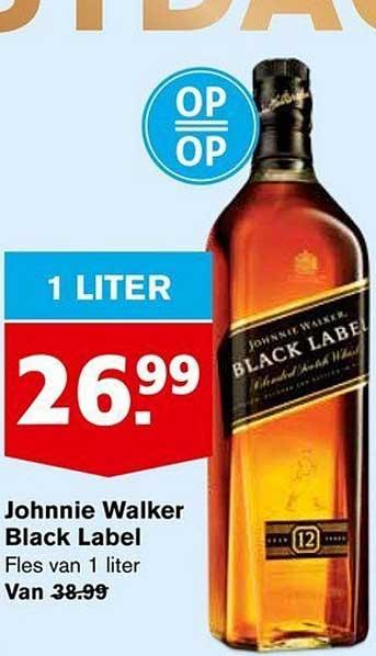 Hoogvliet Johnie Walker Black Label