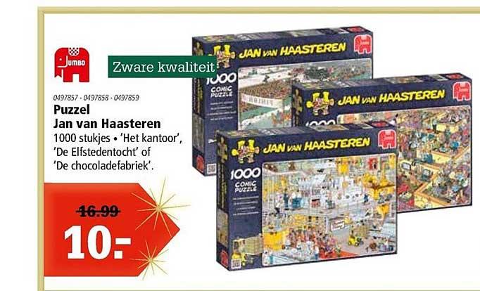 Marskramer Puzzel Jan Van Haasteren