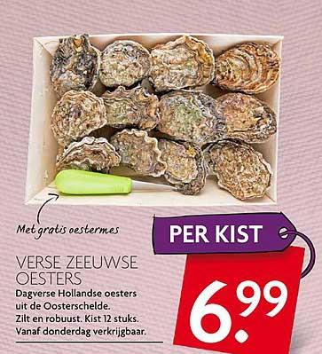 DekaMarkt Verse Zeeuwse Oesters
