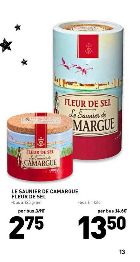 De Kweker Le Saunier De Camargue Fleur De Sel