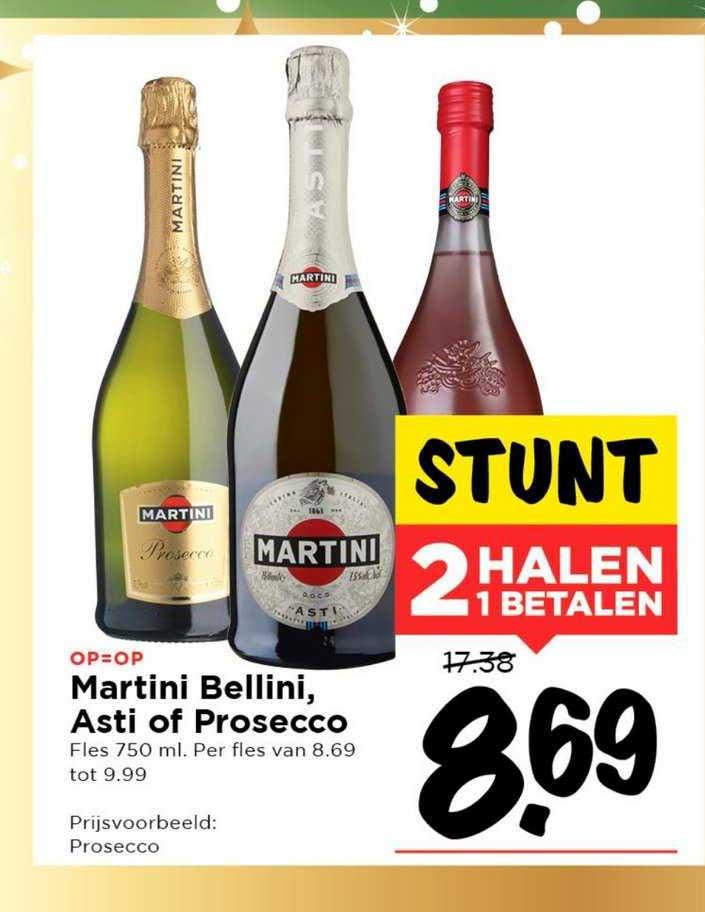 Vomar Martini Bellini, Asti Of Prosecco
