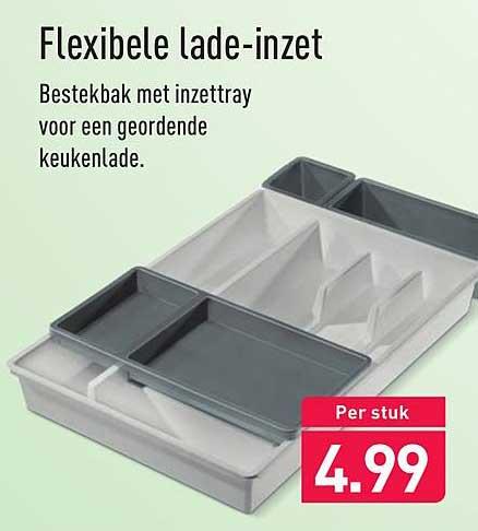 ALDI Flexibele Lade-Inzet