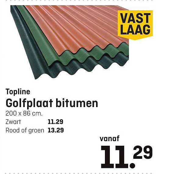 Multimate Golfplaat Bitumen