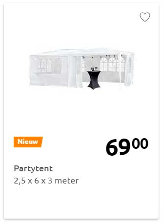 Action Partytent