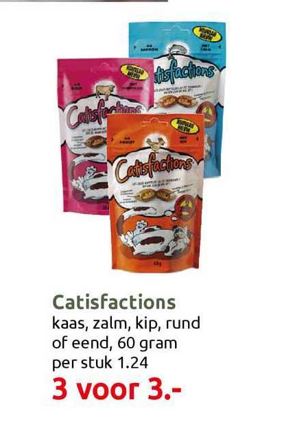 DekaTuin Catisfactions Kaas, Zalm, Kip, Rund Of Eend