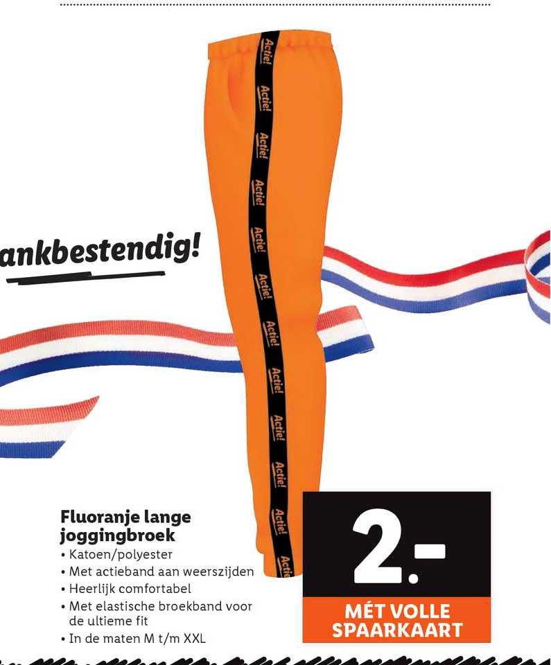 Lidl Fluoranje Lange Joggingbroek