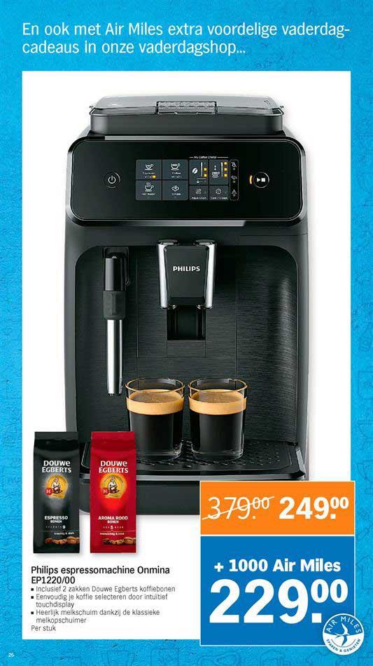 Albert Heijn Philips Espressomachine Onmina EP1220-00