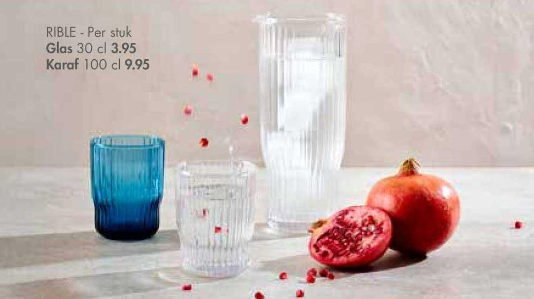 CASA Rible Glas 30 Cl Of Karaf 100 Cl