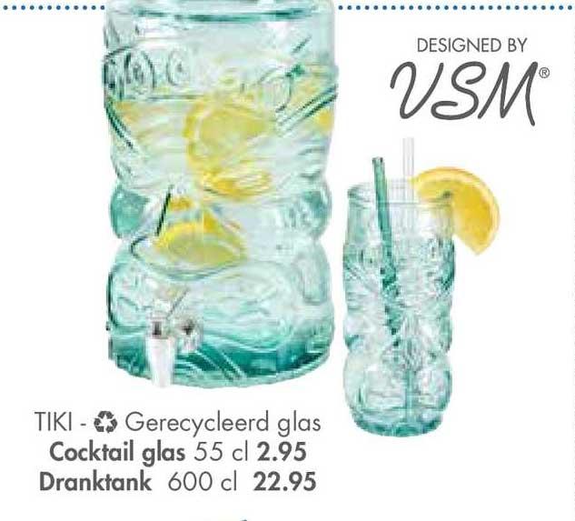 CASA Tiki Cocktail Glas Of Dranktank