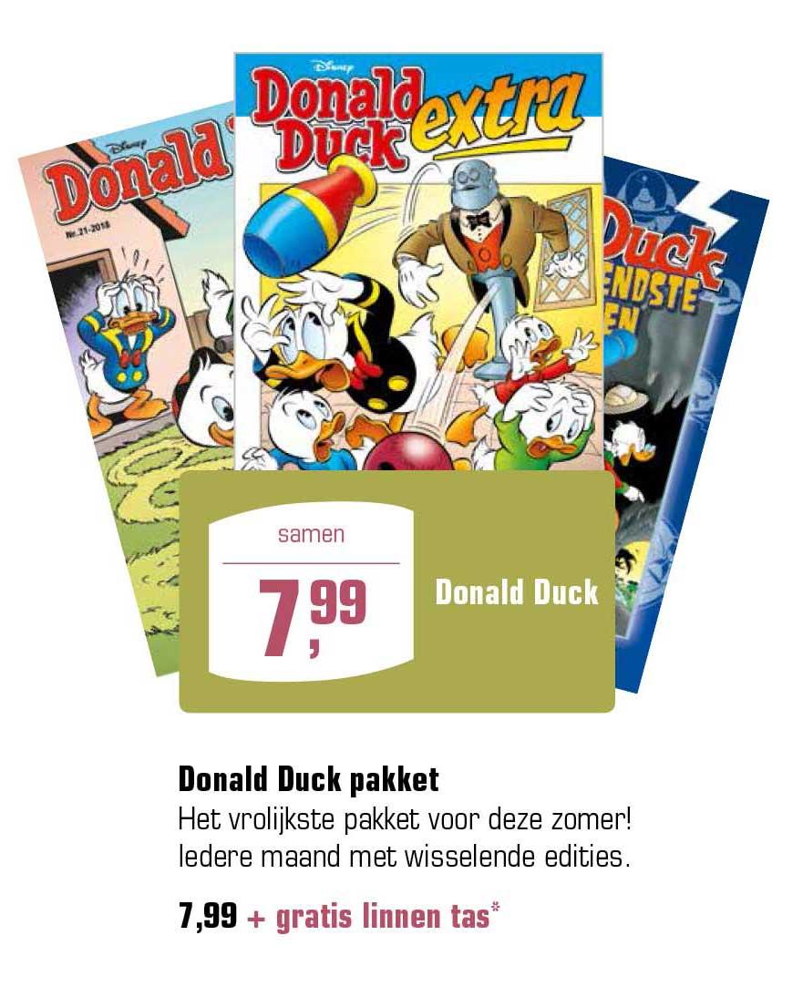 Primera Donald Duck Pakket