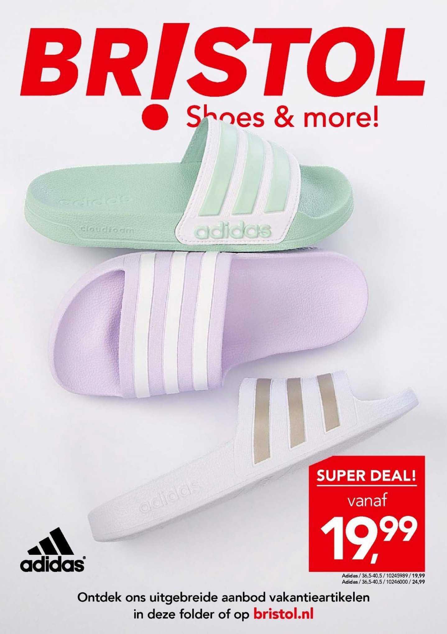 Bristol Adidas Slippers