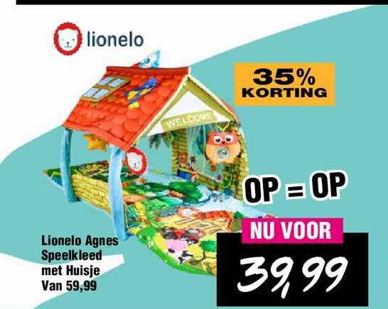Van Asten Lionelo Agnes Speelkleed Met Huisje 35% Korting