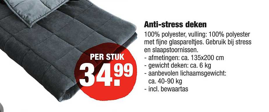 ALDI Anti-Stress Deken