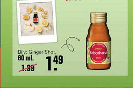 De Online Drogist Rabenhorst Ginger Shot