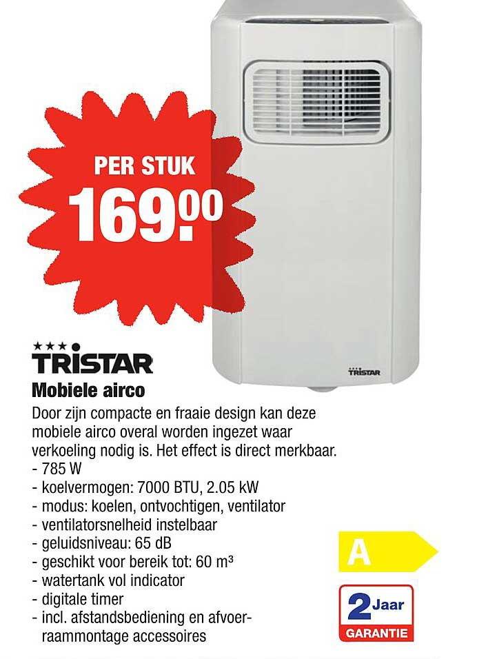 ALDI Tristar Mobiele Airco