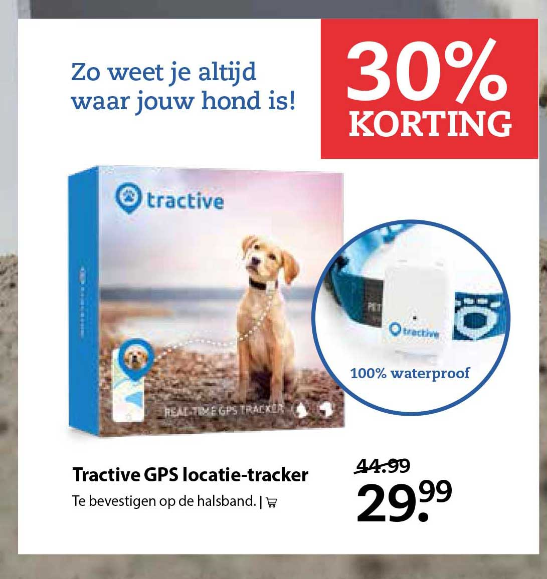 Pets Place Tractive Gps Locatie Tracker: 30% Korting