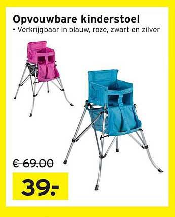 Heuts Opvouwbare Kinderstoel