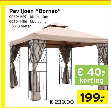 Heuts Paviljoen Borneo € 40.- Korting