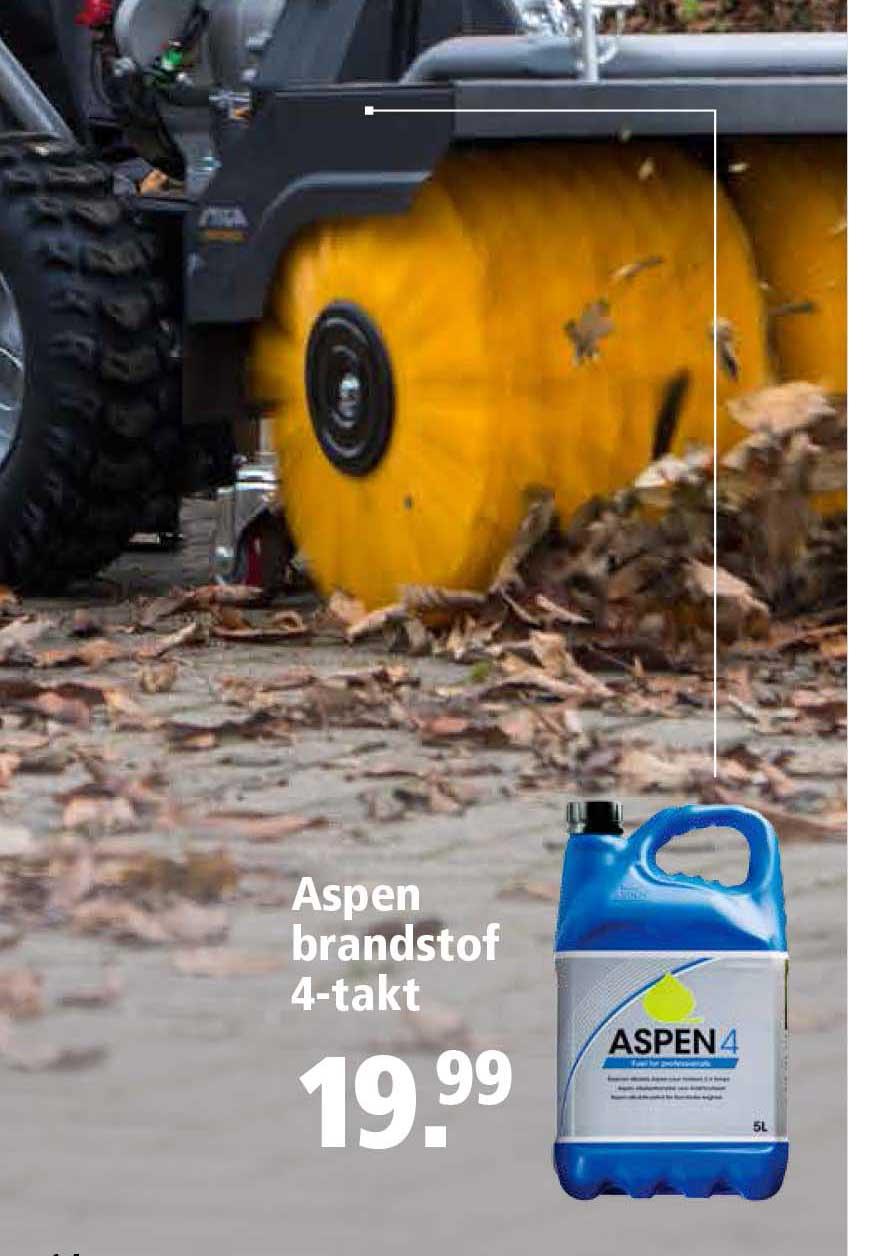Welkoop Aspen Brandstof 4 Takt