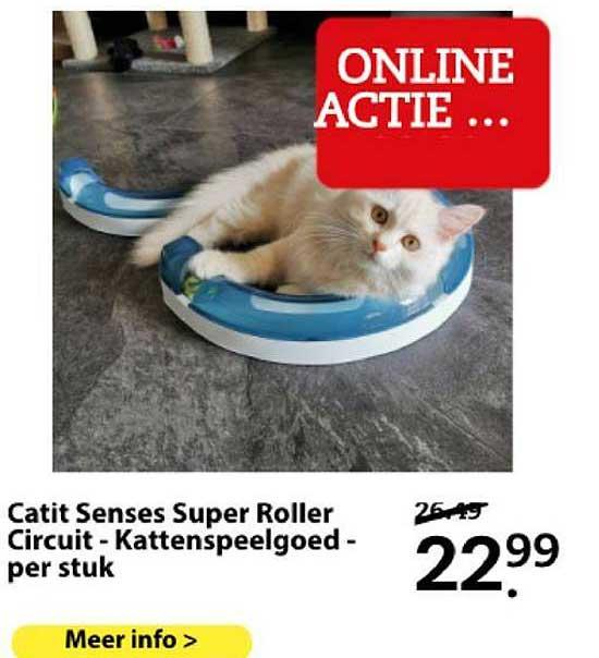 Boerenbond Catit Senses Super Roller Circuit - Kattenspeelgoed