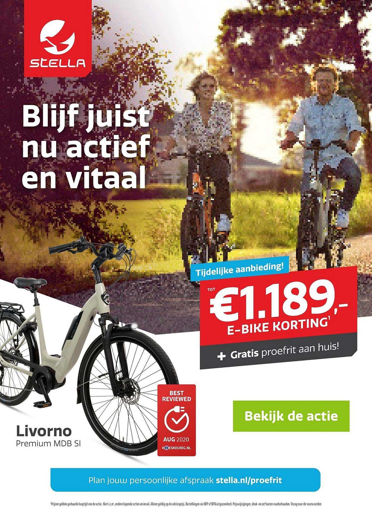Stella Fietsen Livorno Premium MDB SI E-Bike