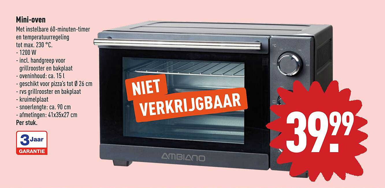 ALDI Ambiano Mini-Oven