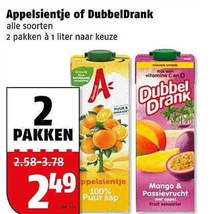 Poiesz Appelsientje Of DubbelDrank