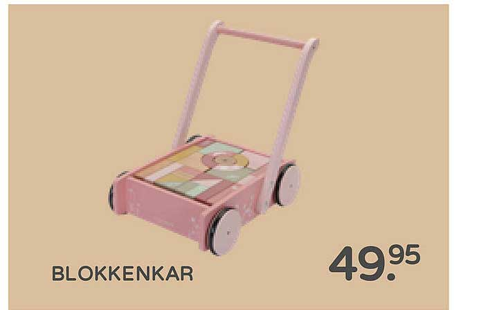 Prénatal Blokkenkar