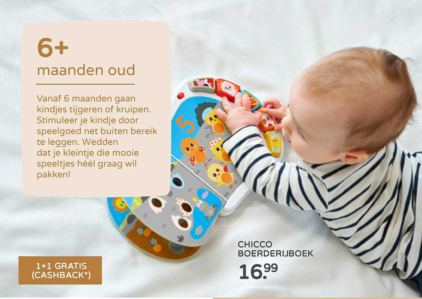Prénatal Chicco Boerderijboek
